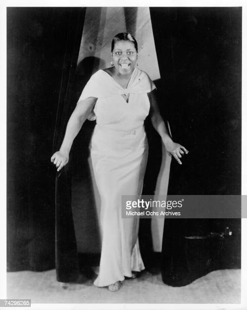 Blues singer Bessie Smith poses for a portrait circa 1929