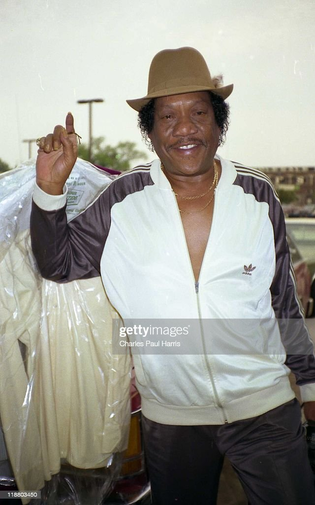 Blues singer Bobby Bland arrives at the venue on Mayl 6 1982 in Baton Rouge Loisiana