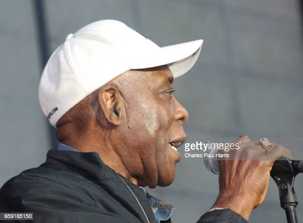 Blues singer / guitarist Buddy Guy performs at the Chicago Blues Festival JUNE 12 2016 in Chicago Illinois