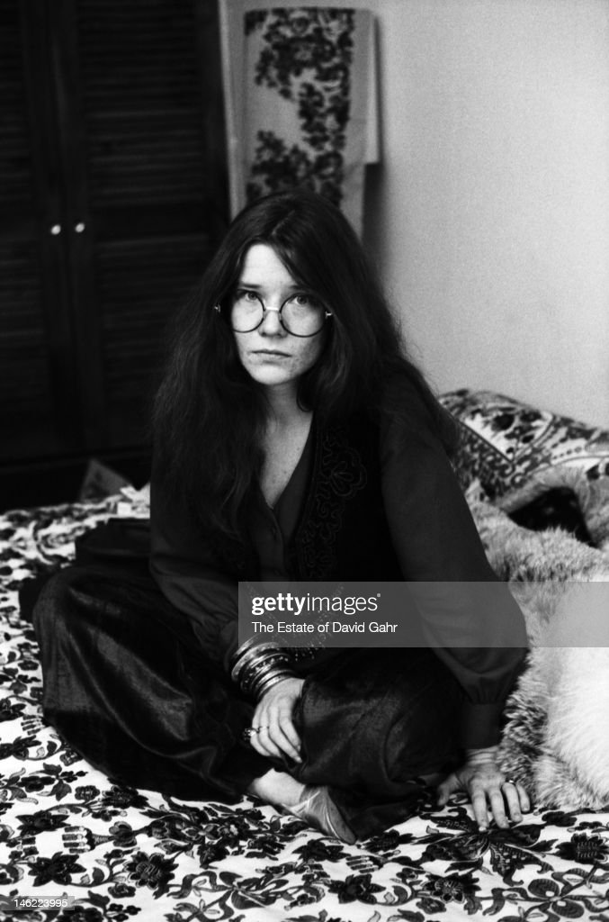 Blues singer Janis Joplin poses for a portrait on March 3, 1969 at the Chelsea Hotel in New York City, New York.