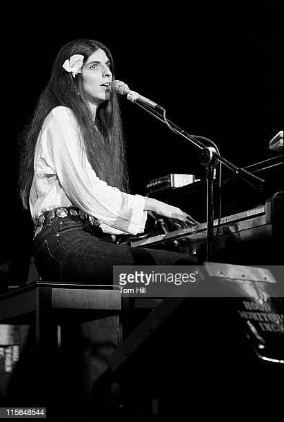 Marcia Ball Pianist during Marcia Ball Performes at The Agora August 28 1978 at Agora Ballroom in Atlanta Georgia United States