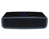 Bluetooth, nfc speaker on a white background