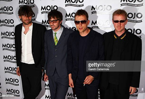 Blur attend the 2009 MOJO Honours List at The Brewery on June 11 2009 in London England