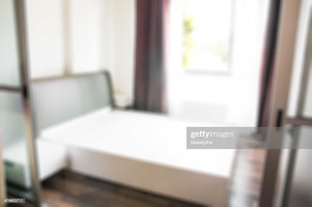Blur bedroom : Stock Photo
