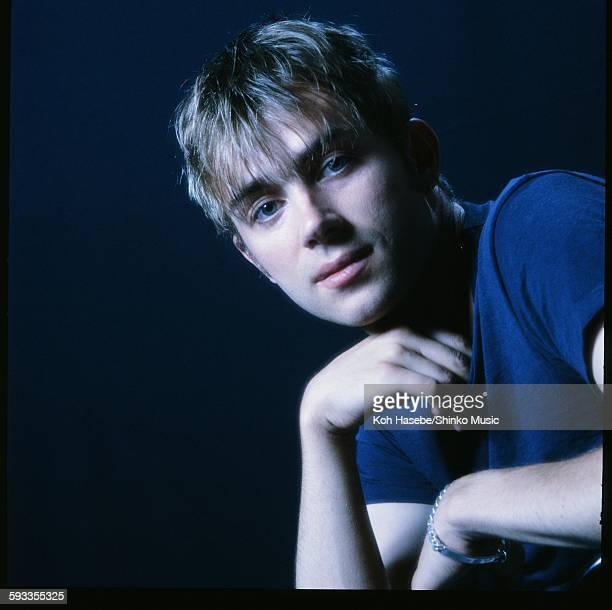 Blur Damon Albarn at photo studio in Tokyo November 1994