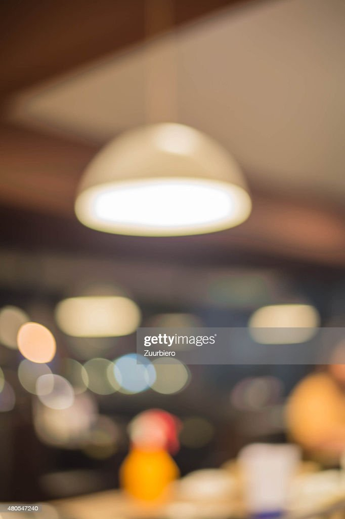 Blur Lamp : Stock Photo