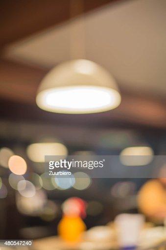 Luz de Borrão : Foto de stock