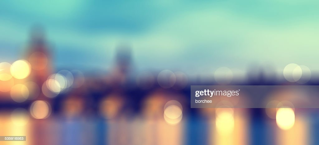 Blured City Lights : Stock Photo