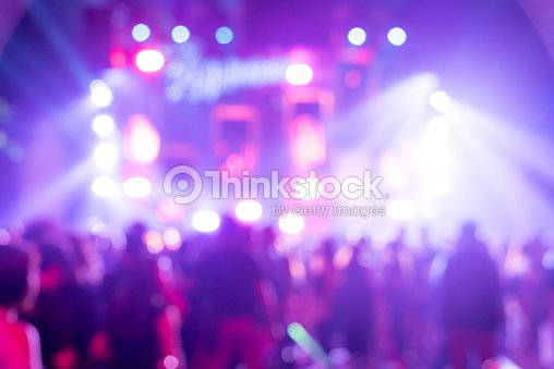 Blurred background  Concert : Stock Photo