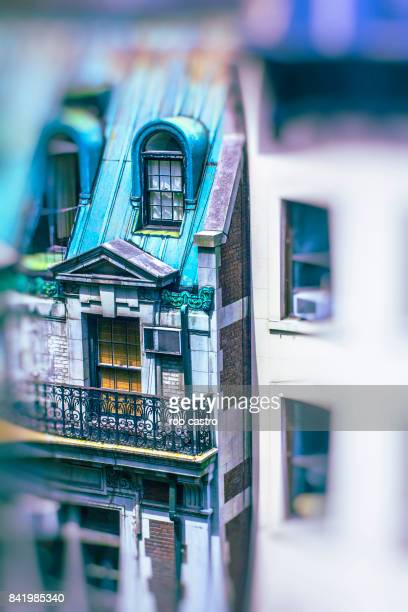 Blurred Building