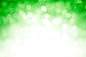 Blurred green sparkles