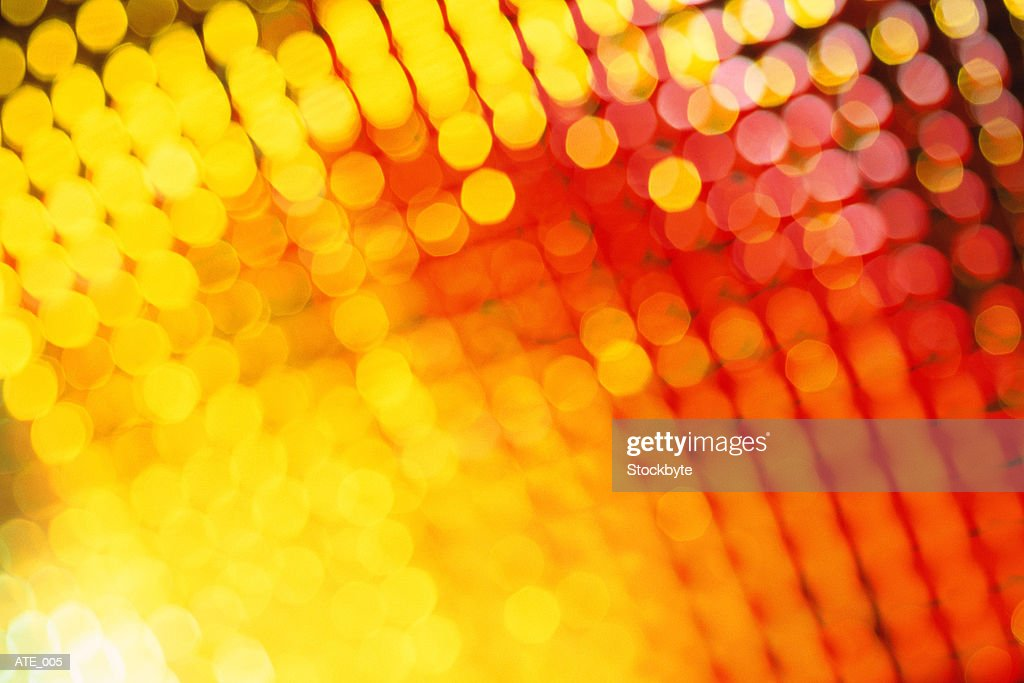 Blurred lights : Stock Photo