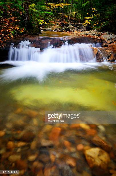 Blurred Motion Falls on the Pemi (Franconia Notch)
