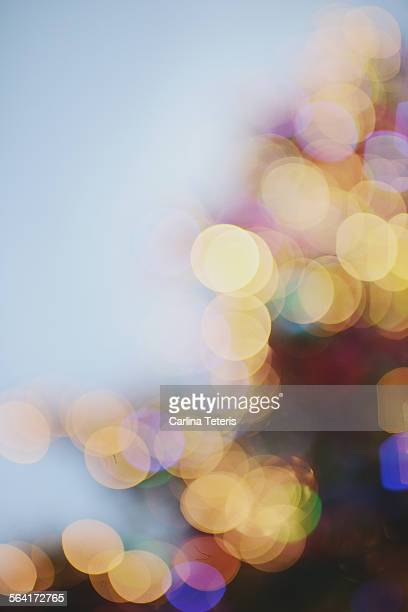Blurred out christmas lights