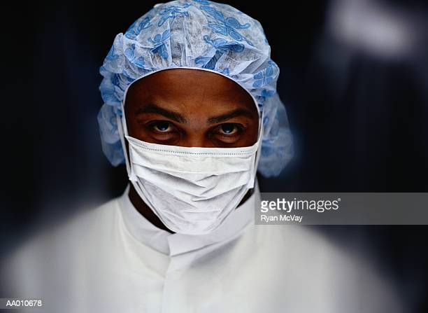 Blurred Portrait of a Doctor