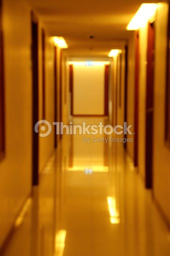Blurred Scene Of Hallway Apartment Building Stock Photo Thinkstock