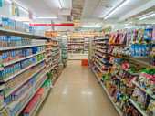 The Shelves Convenience Store (7-11) at Thamai at Chanthaburi, Thailand