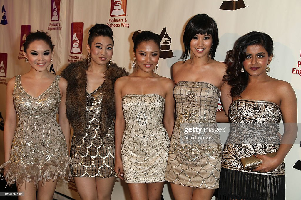 Blush band attends the producers & engineers wing of the recording Academy's 6th Annual GRAMMY Event 'An Evening Of Jazz' at The Village Recording Studios on February 6, 2013 in Los Angeles, California.