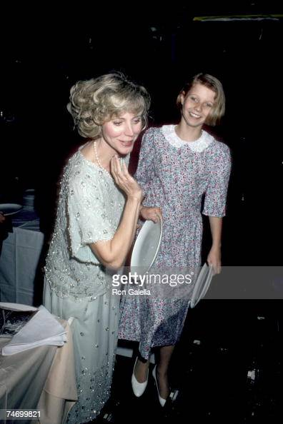 Blythe Danner and Gwyneth Paltrow at the Studio 54 in New York City NY