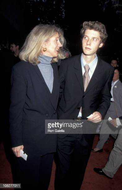 Blythe Danner and Jake Paltrow during Screening of 'Tip Sheet' at Lincoln Center in New York City New York United States