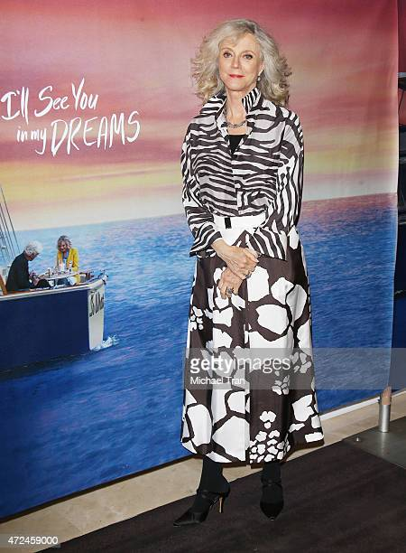 Blythe Danner arrives at the Los Angeles premiere of 'I'll See You In My Dreams' held at The London Screening Room on May 7 2015 in West Hollywood...