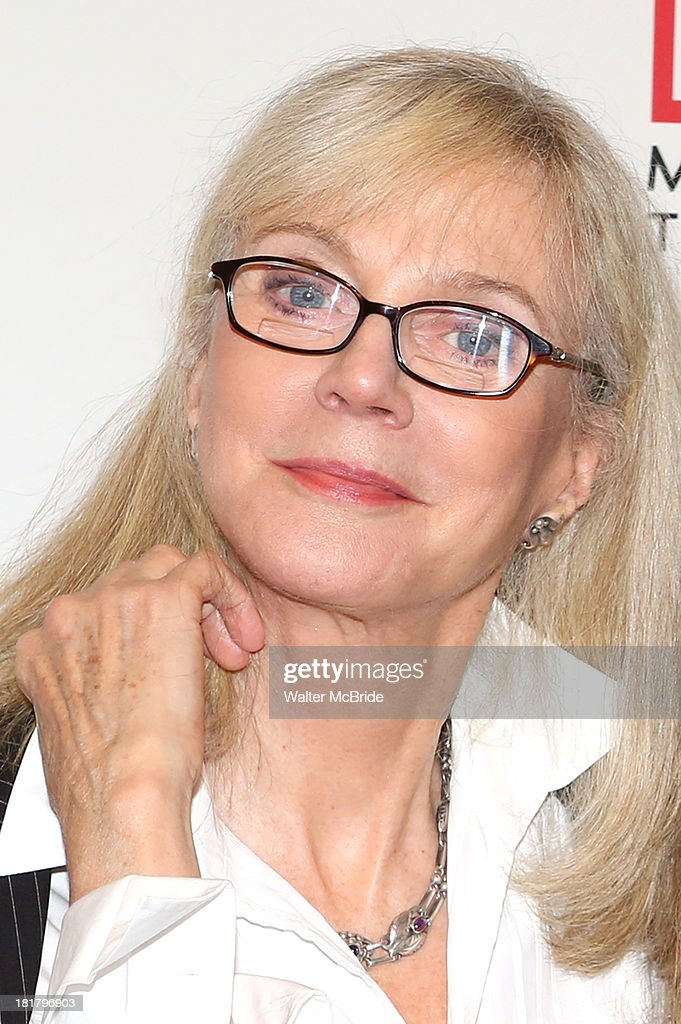 Blythe Danner attending the Meet & Greet for the MTC Production of 'The Commons of Pensacola' at the Manhattan Theatre Club Rehearsal Studios on September 25, 2013 in New York City.
