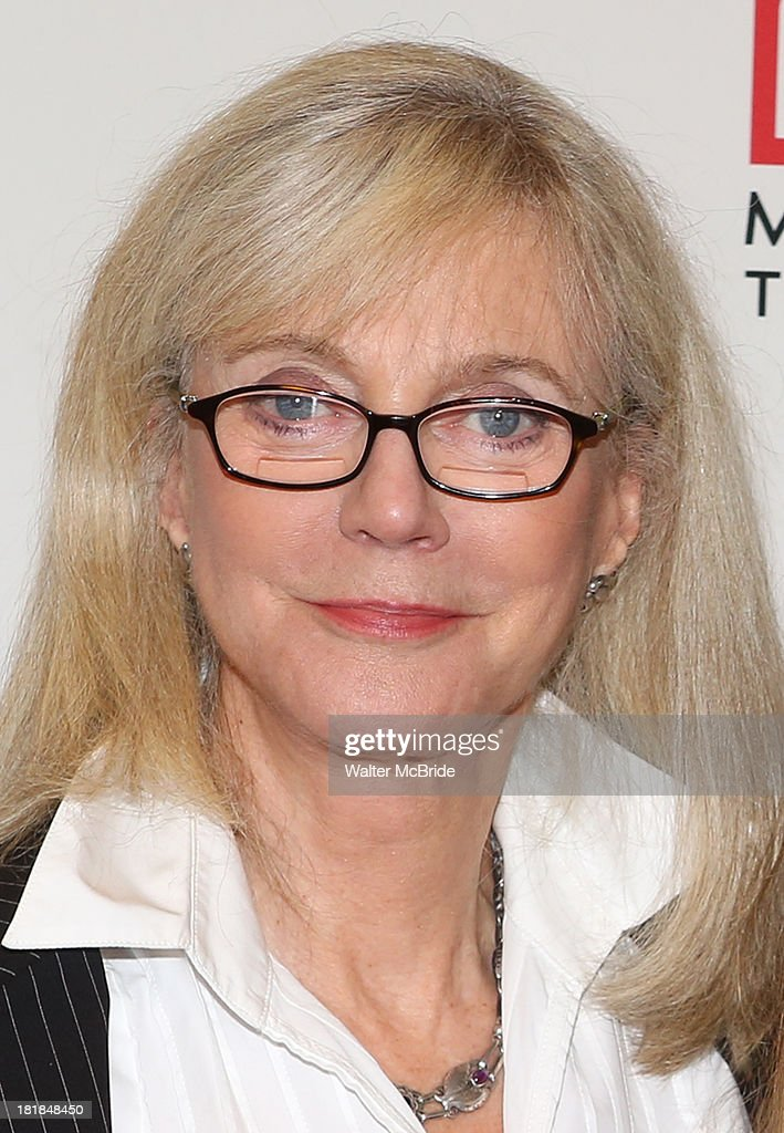 <a gi-track='captionPersonalityLinkClicked' href=/galleries/search?phrase=Blythe+Danner&family=editorial&specificpeople=171210 ng-click='$event.stopPropagation()'>Blythe Danner</a> attending the Meet & Greet for the MTC Production of 'The Commons of Pensacola' at Manhattan Theatre Club Rehearsal Studios on September 25, 2013 in New York City.