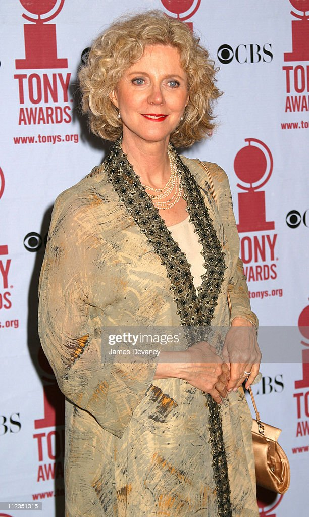 Blythe Danner during 56th Annual Tony Awards - Press Room at American Theater at Radio City Music Hall in New York City, New York, United States.