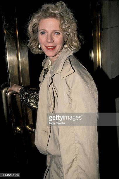 Blythe Danner during Benefit For Arts Films at Metropolitan Museum of Art in New York City New York United States