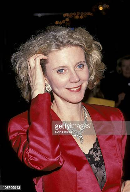 Blythe Danner during 'The Spirit of Liberty' Awards Dinner the 10th Anniversary Celebration of People for the American Way at Waldorf Hotel in New...
