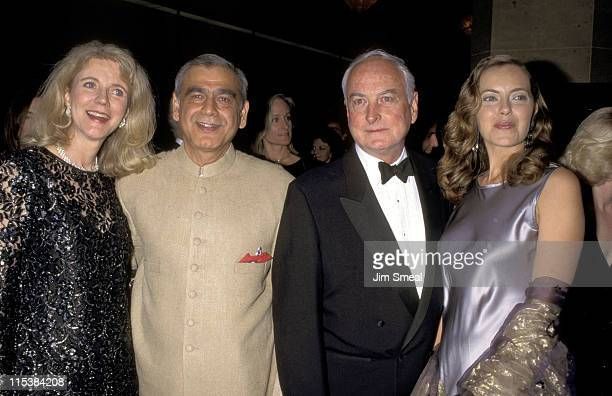 Blythe Danner Ismail Merchant James Ivory And Greta Sacchi