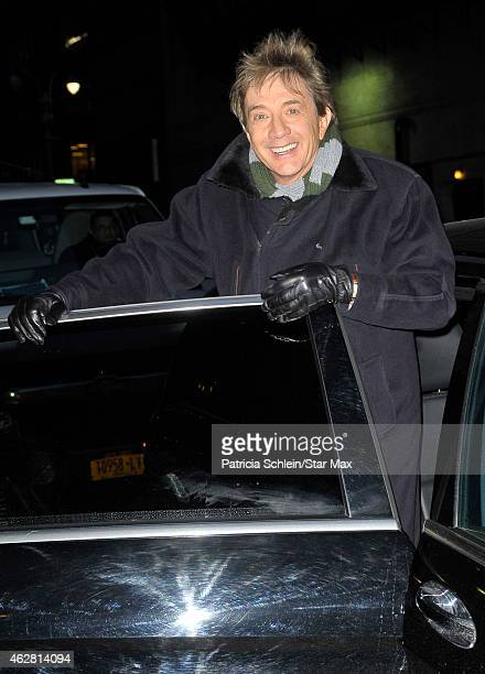 BMartin Short is seen on February 5 2015 in New York City