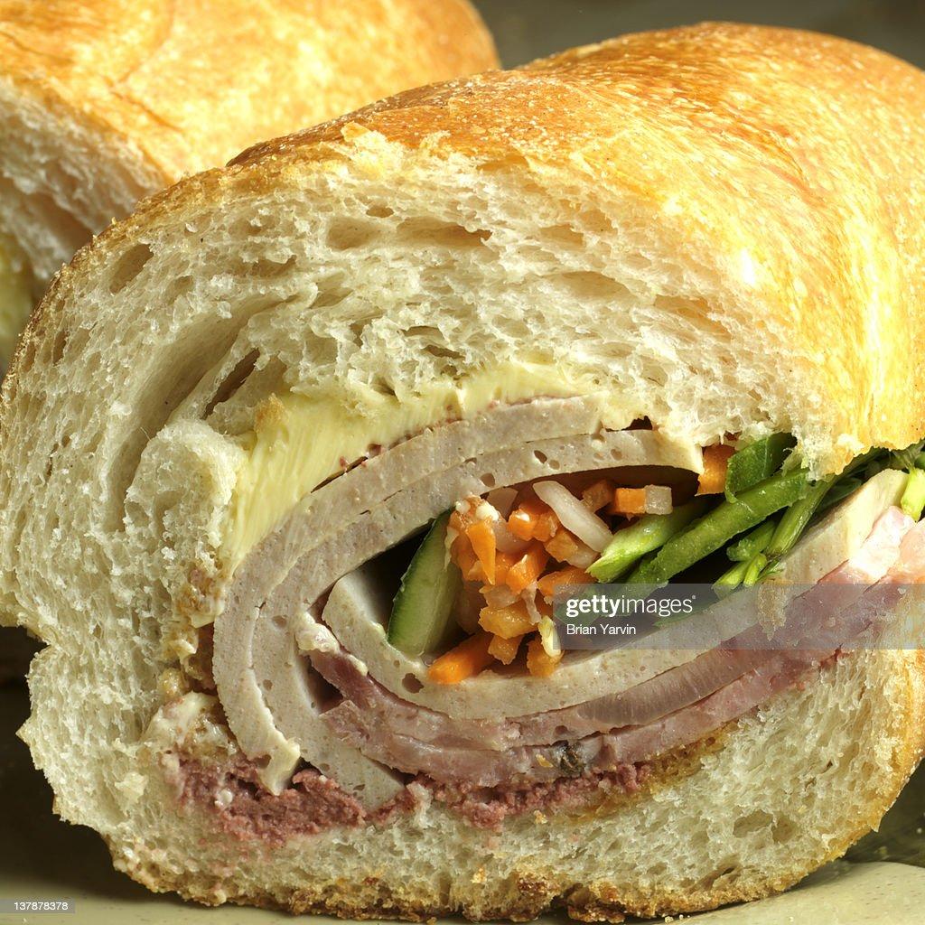 Bánh mì Sandwich : Stock Photo