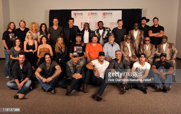 Bo Bice Phillip Sweet Kimberly Schlapman Karen Fairchild and Jimi Westbrook of Little Big Town JD Nicholas Walter Orange and William King of The...