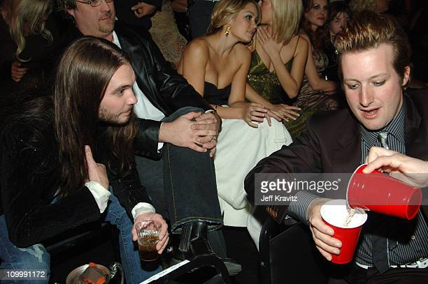 Bo Bice winner of Big Reality Star and Tre Cool of Green Day