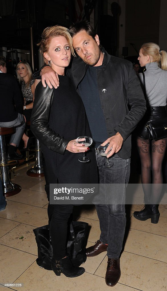 Bo Bruce and Henry Binns attends the Steam And Rye launch party on November 19, 2013 in London, United Kingdom.