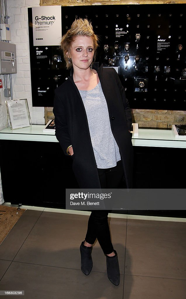 Bo Bruce attends as Casio London celebrate the 1st birthday of their Covent Garden store on May 8 2013 in London England
