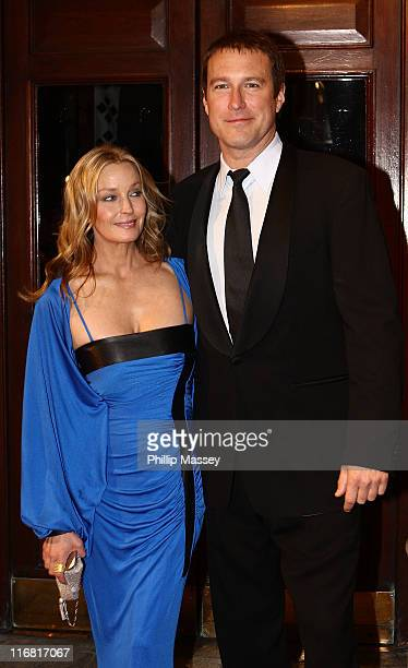 Bo Derek and John Corbett arrive for the Irish Film Television Awards at Gaiety Theatre on February 17 2008 in Dublin Ireland