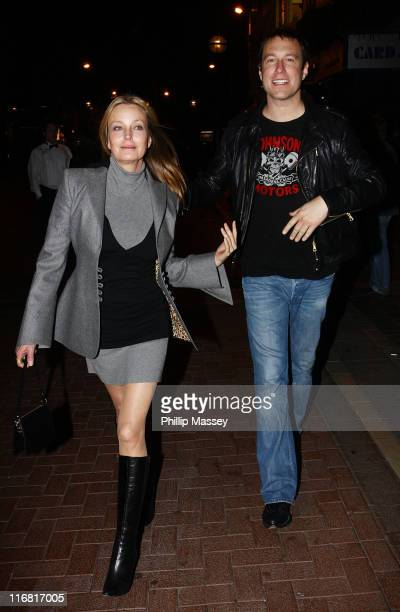Bo Derek and John Corbett leave Lillie's Bordello on February 15 2008 in Dublin Ireland