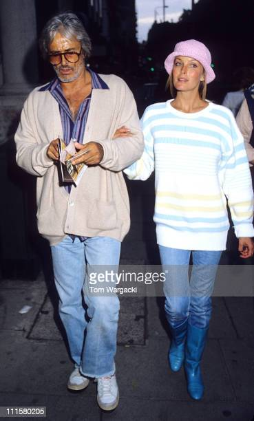 Bo Derek and John Derek during Bo Derek and John Derek Sighting in London in the 1980's at Atheneum Hotel in London Great Britain