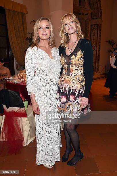 Bo Derek and Melanie Griffith attend the Eva Longoria Foundation Dinner Gala during the 60th Taormina Film Fest at Hotel San Domenico on June 17 2014...