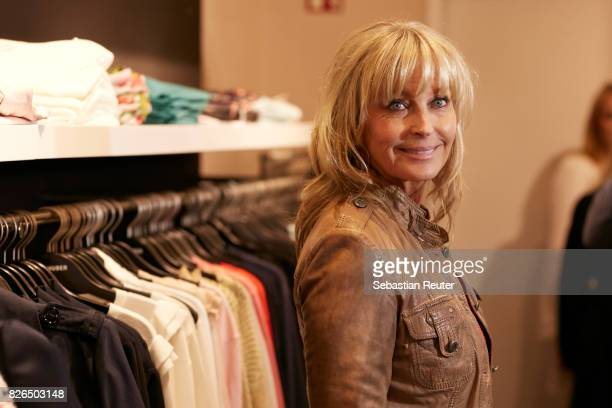 Bo Derek attends the late night shopping at Designer Outlet Soltau on August 4 2017 in Soltau Germany