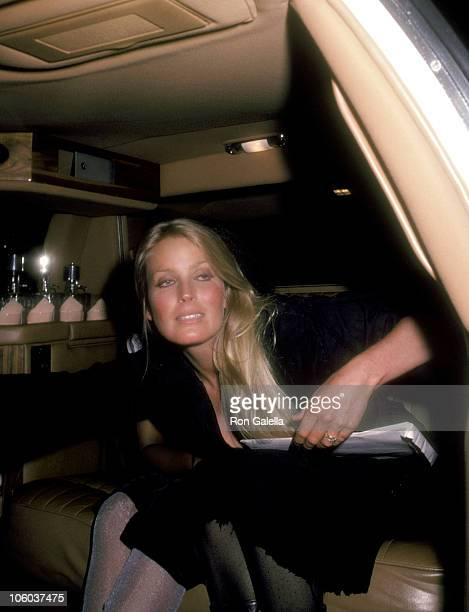 Bo Derek during 'A View to Kill' Premiere June 3 1985 in Los Angeles California United States