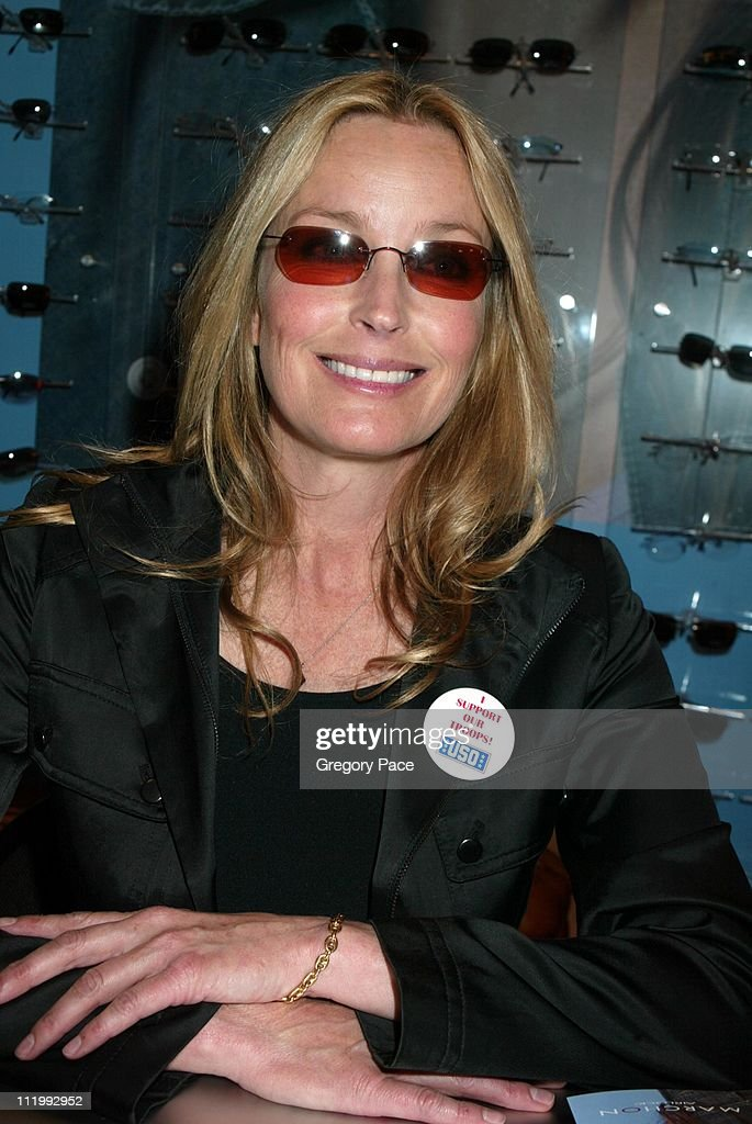 Celebrities endorse eyewear at the International Vision Expo East 2003
