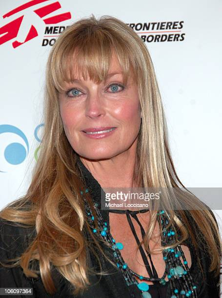 Bo Derek during Invest In Our World Benefit at Nikki Broadway in New York City New York United States