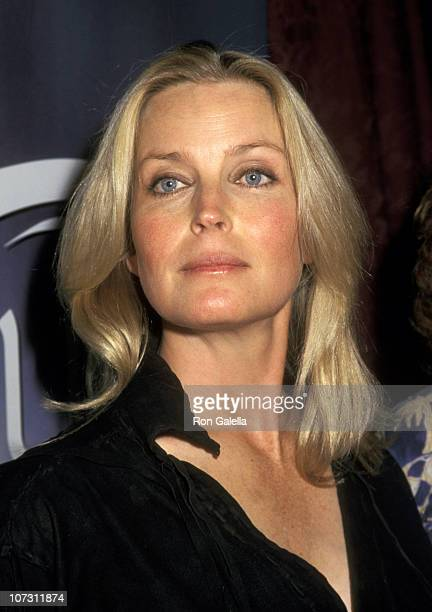 Bo Derek during Launch of Bo Derek's New Swimwear Line 'Bodacious International' February 11 1997 at Granville Restaurant in New York City New York...