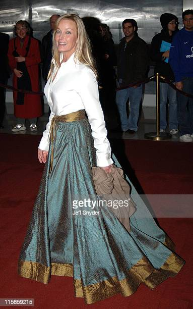 Bo Derek during The 28th Annual Kennedy Center Honors Arrivals at The Kennedy Center for the Perfoming Arts in Washington DC United States