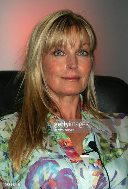 Bo Derek during WE Women's Entertainment Panel 'I Can't Believe I Wore That' at the 2005 Summer TCA at Beverly Hilton Hotel in Beverly Hills...
