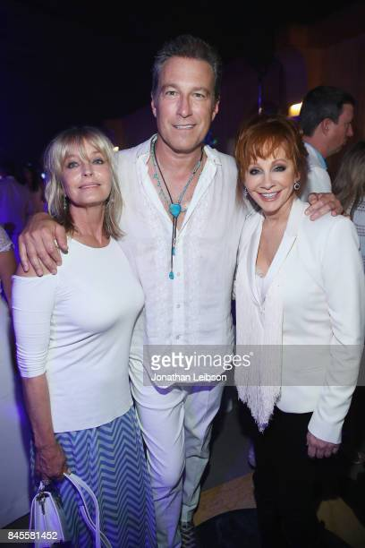 Bo Derek John Corbett and Reba McEntire attend the Closing Night Gala at Cinecittà as part of the 2017 Celebrity Fight Night in Italy Benefiting The...