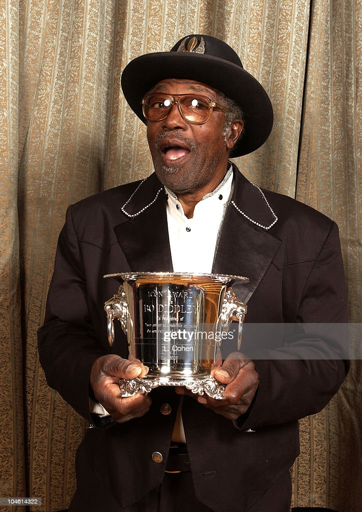 Bo Diddley during 2002 BMI Pop Awards at Regent Beverly Wilshire in Beverly Hills, California, United States.